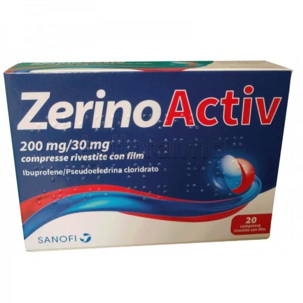 ZERINOACTIV 200+30mg 20 Cpr