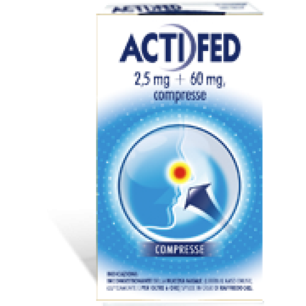 ACTIFED 12 Cpr