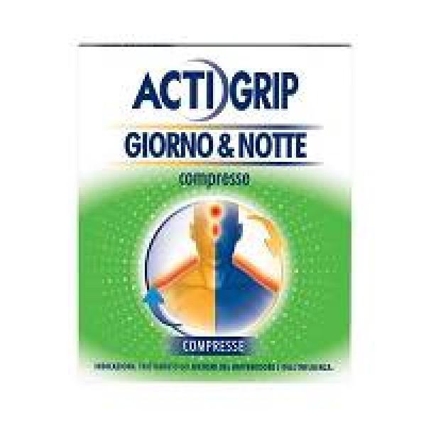 ACTIGRIP Giorno&Notte 12+4 Cpr