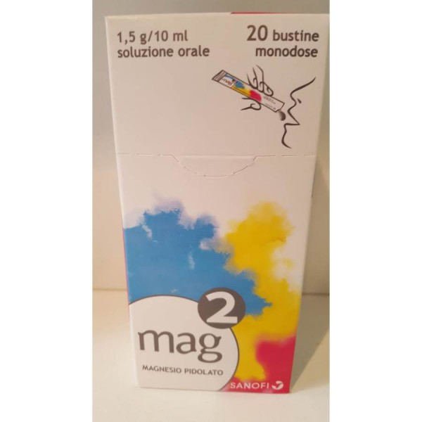 MAG-2 OS Sol.20 Bust.1,5g/10ml