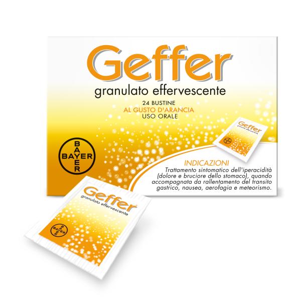 GEFFER 24 Bust.Arancia 5g